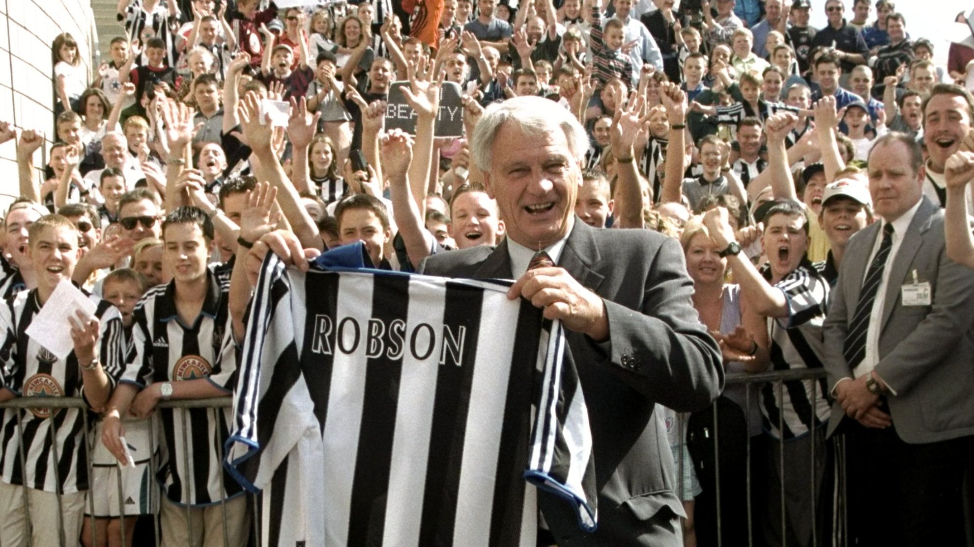 Newcastle United - Sir Bobby comes home