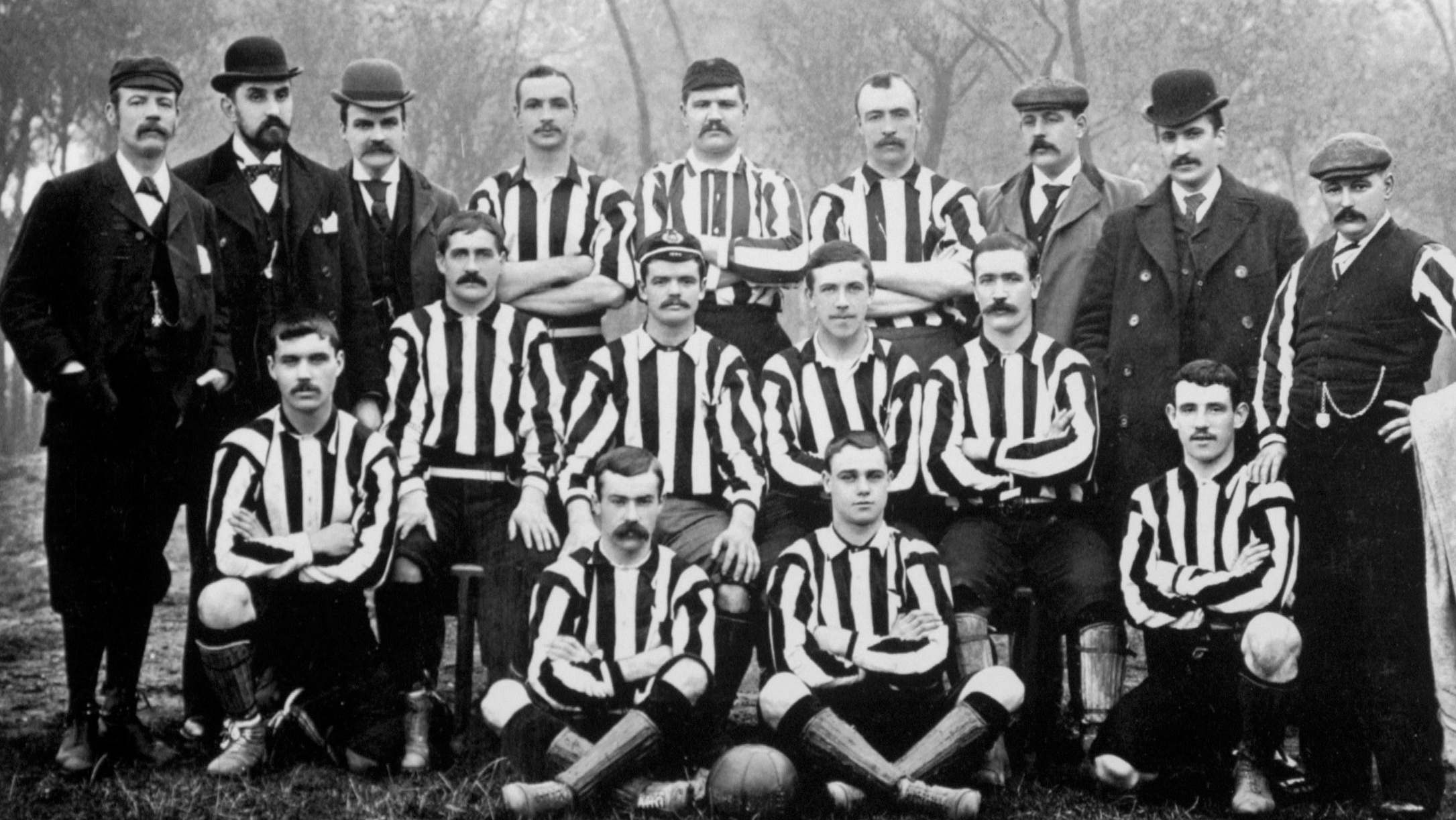 Image result for newcastle united 1892