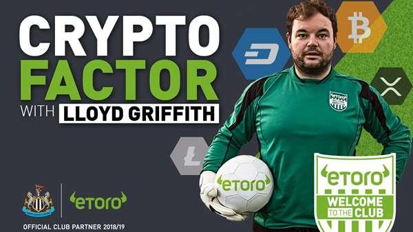 adf55183f86a Newcastle United - Crypto Factor: United players take on Lloyd ...