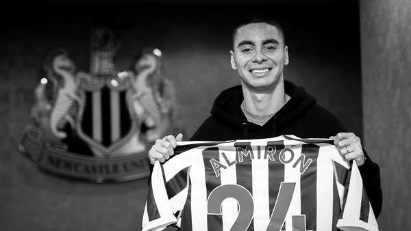 hot sale online 274aa 3c99e Newcastle United - Miguel Almirón