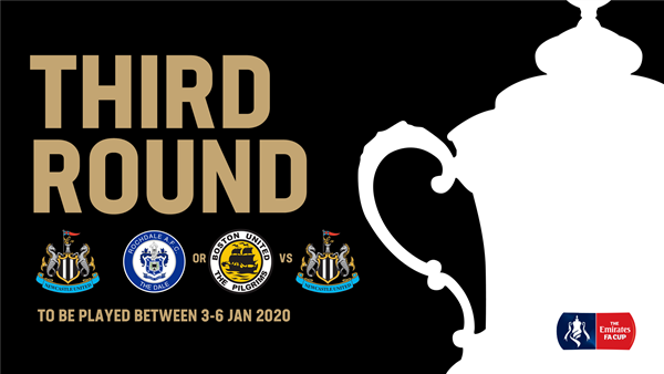 Newcastle United Magpies Drawn Away To Rochdale Or Boston United