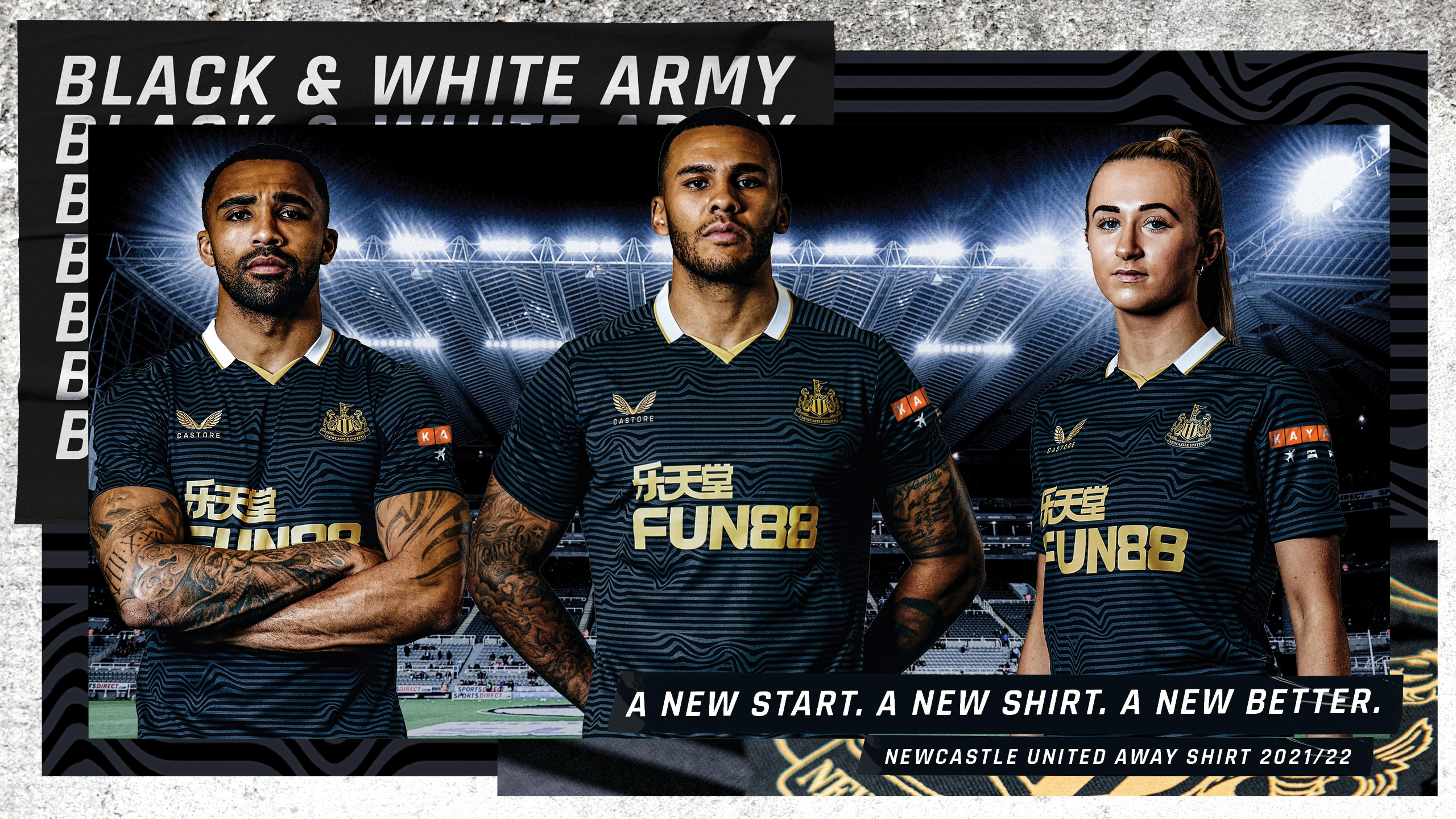 Newcastle United - Introducing our new 2021/22 away kit