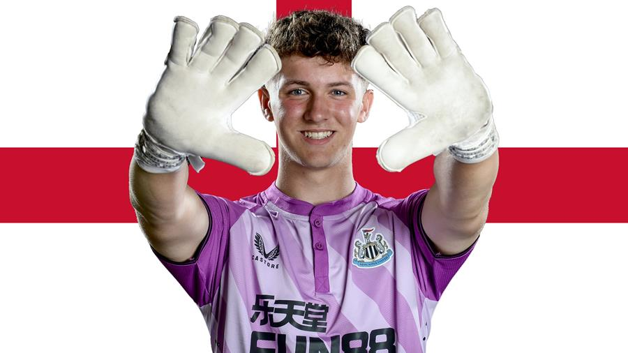 Clean sheet for Thompson on England debut - Newcastle United