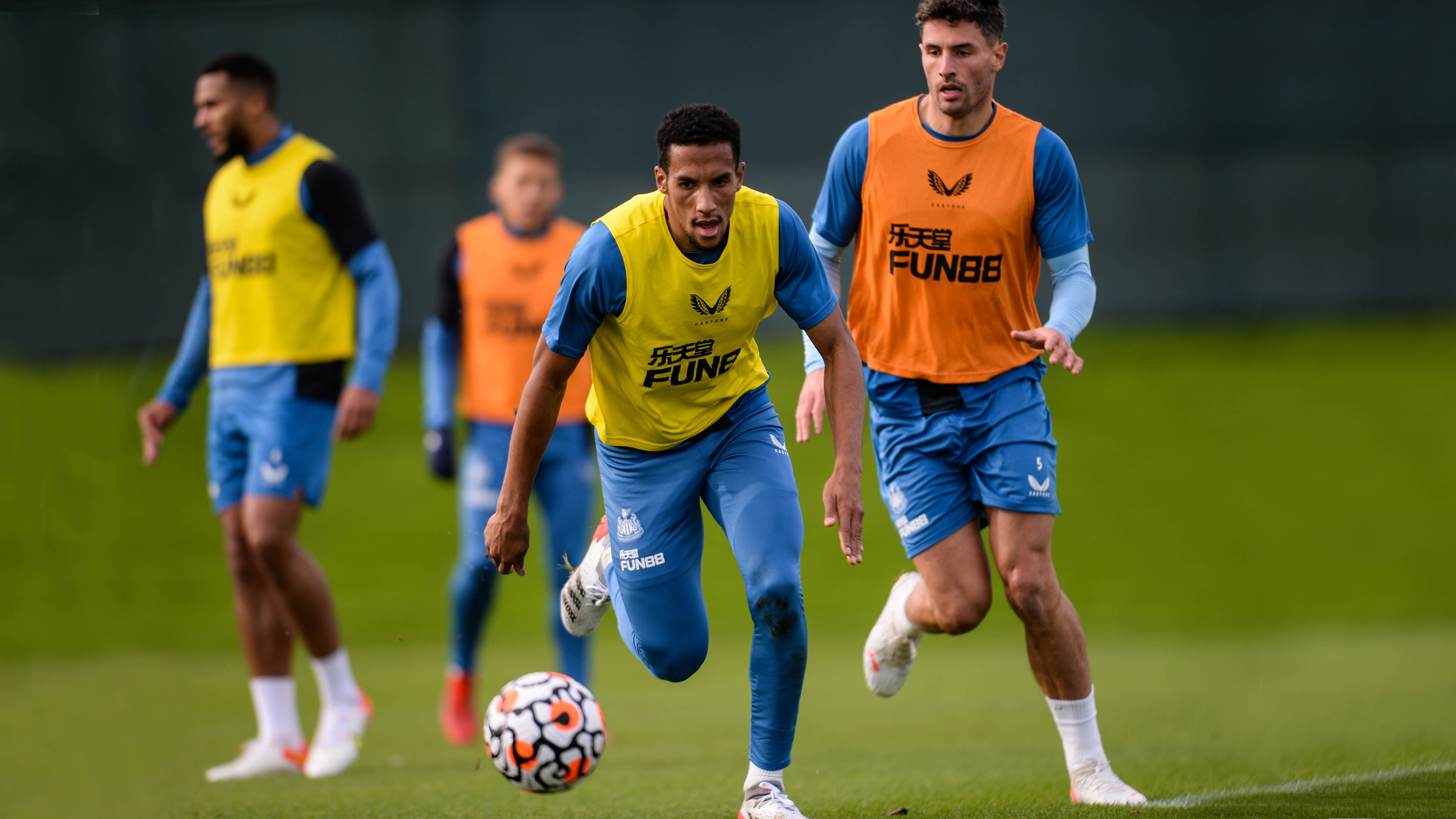 Toon in training: Preparing for Palace