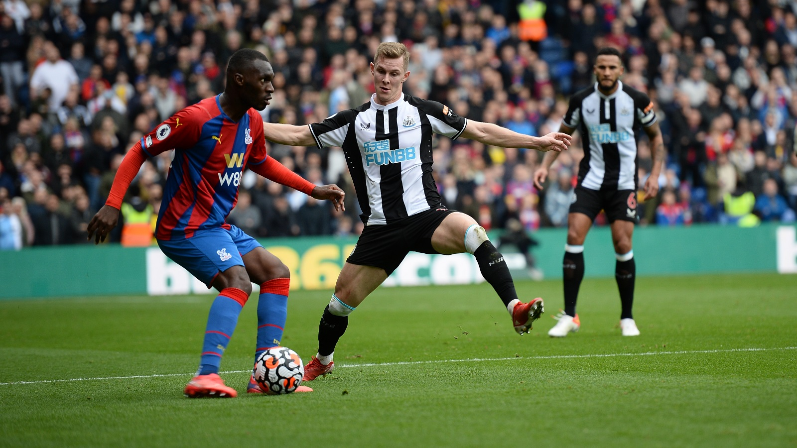 We deserved point at Palace, says Krafth